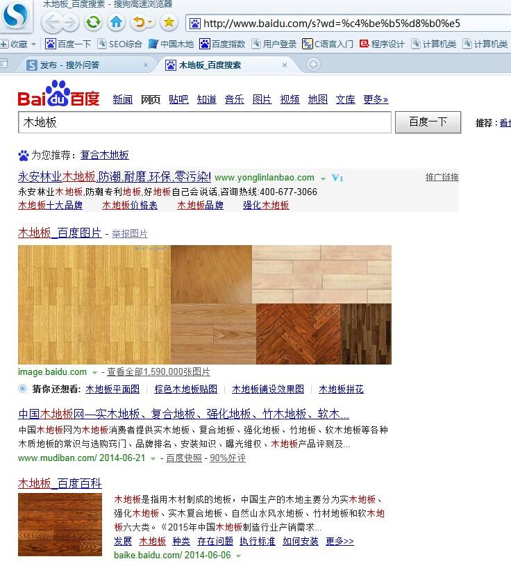 不同的浏览器排名不同?