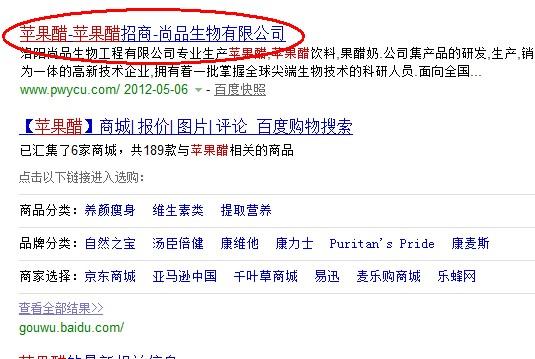 同一个搜索结果下同一个网站可以出现两次吗