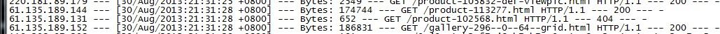 请教一下,61.135.189.X是什么蜘蛛的IP