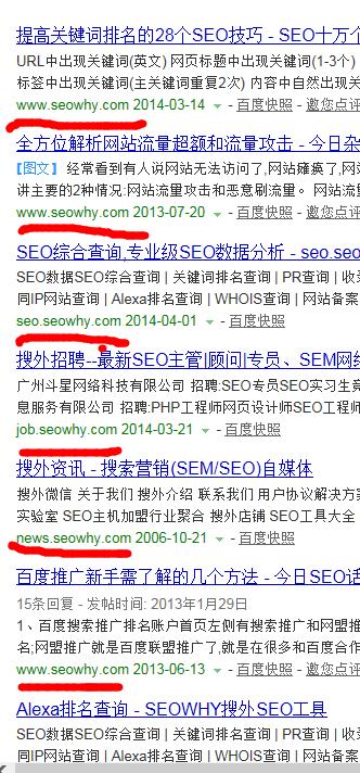 这样的搜索结果的URL真的会增加用户体验度吗?
