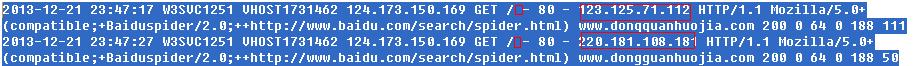 查询网站日志出现大量的200 0 64 是作死的节奏吗?